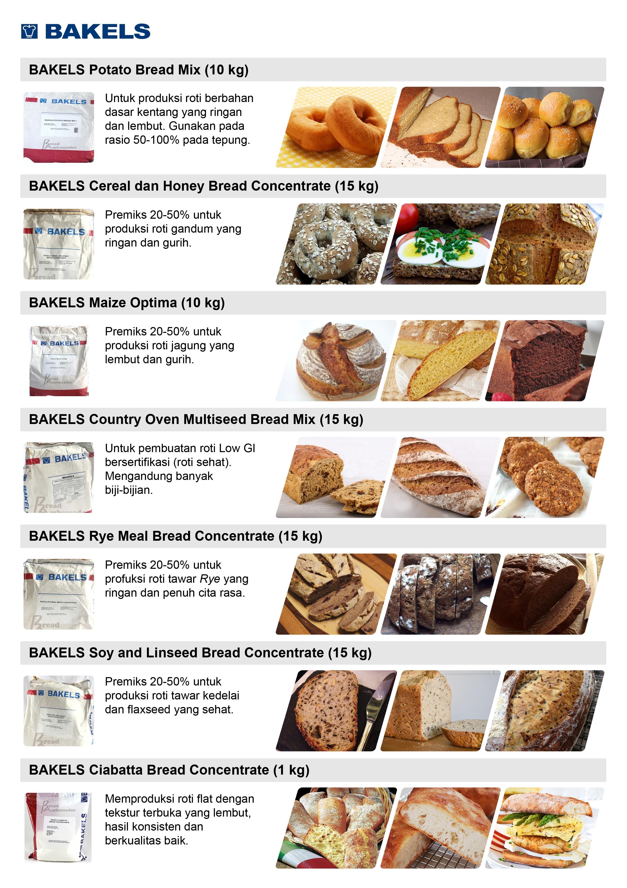 bread mix bakels